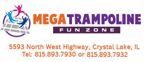 Mega Trampoline Fun Zone |  North West Highway, Crystal Lake, IL | Tel: 815.893.7930 or 815.893.7932